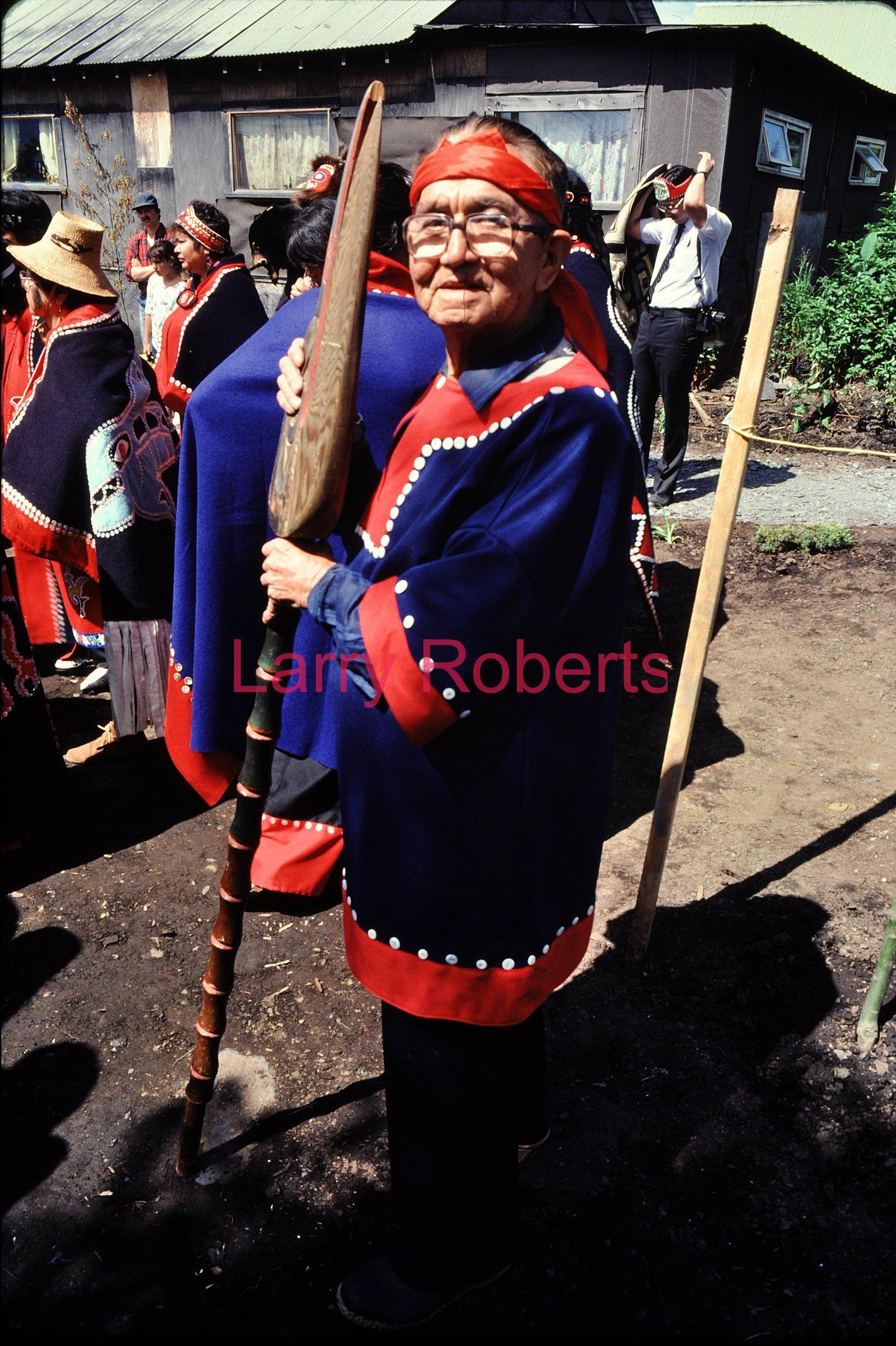 Herbert J. Bradley, 1907-1992, Wrangell, Alaska. July 1987.