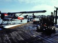 "Alaska Island Air ""Beaver"" and ""Goose"", Petersburg, Alaska. Fall 1980."